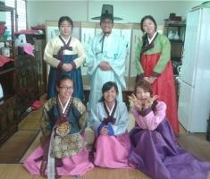 한국문화 체험.